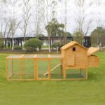 Wooden pet house rabbit cage 327x 105x 133cm SPF material 06-0033 Wooden pet house rabbit cage 327x 105x 133cm SPF material 06-0033
