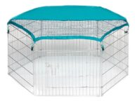 Dog Playpen: Pet Playpen Products, Dog Goods Wire Pet Playpen with waterproof polyester cloth 6 panels 06-0112 Wire Pet Playpen with waterproof polyester cloth 6 panels 06-0112