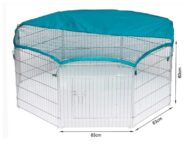 Dog Playpen: Pet Playpen Products, Dog Goods Wire Pet Playpen with waterproof polyester cloth 8 panels size 63x 60cm 06-0114 Wire Pet Playpen with waterproof polyester cloth 8 panels size 63x 60cm 06-0114