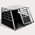 Large Double Door Dog cage With Separate board 65a 06-0774 Large Double Door Dog cage With Separate board 65a 06-0774
