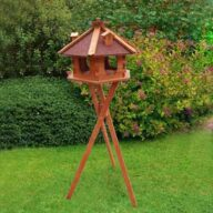Bird feeder, Bird Products Factory, Manufacturers & Supplier Wooden bird feeder Dia 57cm bird house 06-0979 Wooden bird feeder Dia 57cm bird house 06-0979