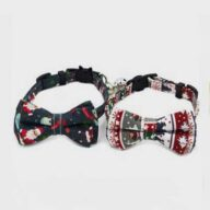 Dog Bow Tie Christmas: New Christmas Pet Collar 06-1301 Dog Bow Tie Christmas: New Christmas Pet Collar 06-1301