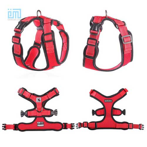 wholesale custom adjustable dog chest harness 109-0002-5